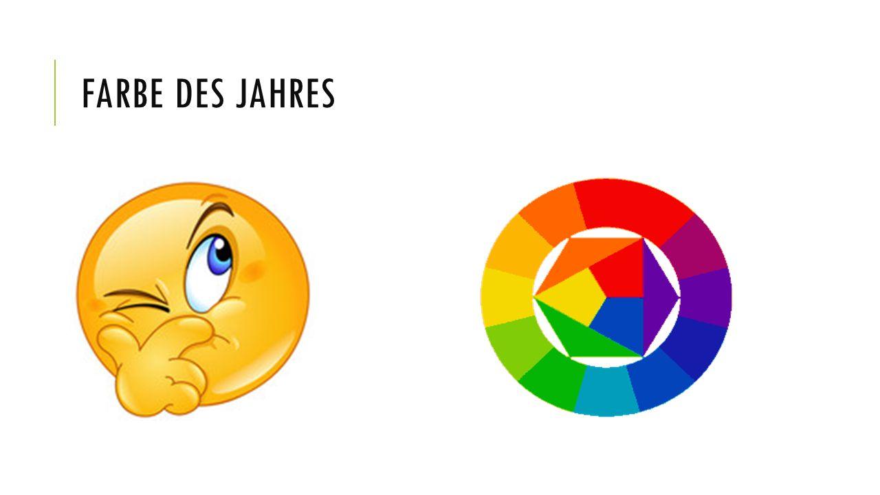 FARBE DES JAHRES
