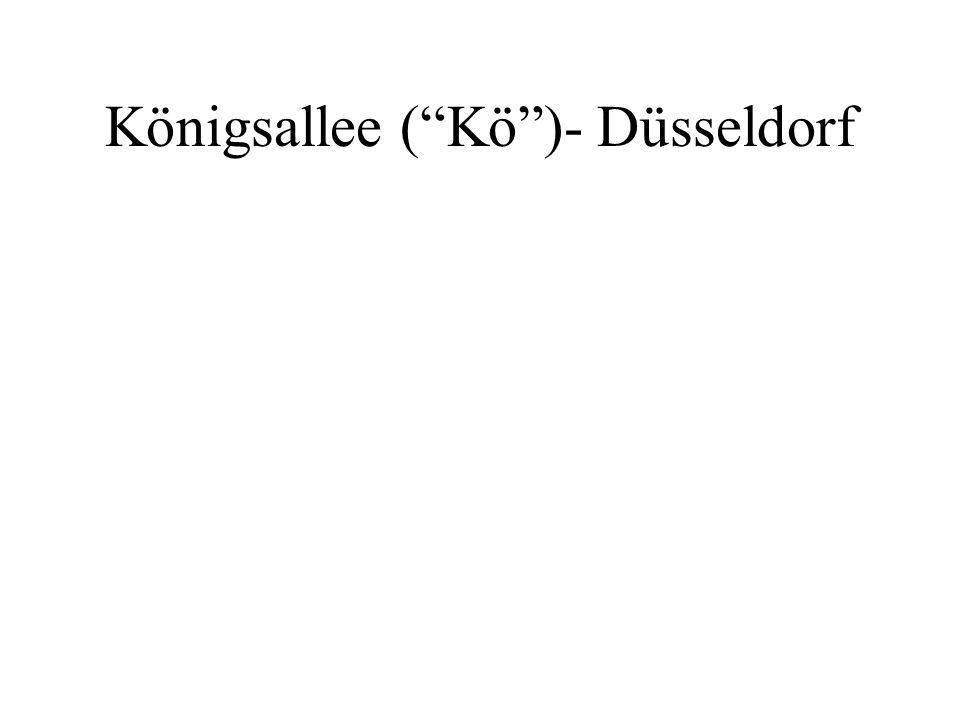 Königsallee ( Kö )- Düsseldorf