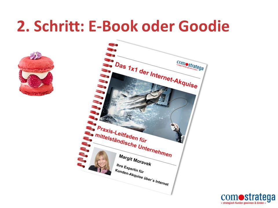 2. Schritt: E-Book oder Goodie