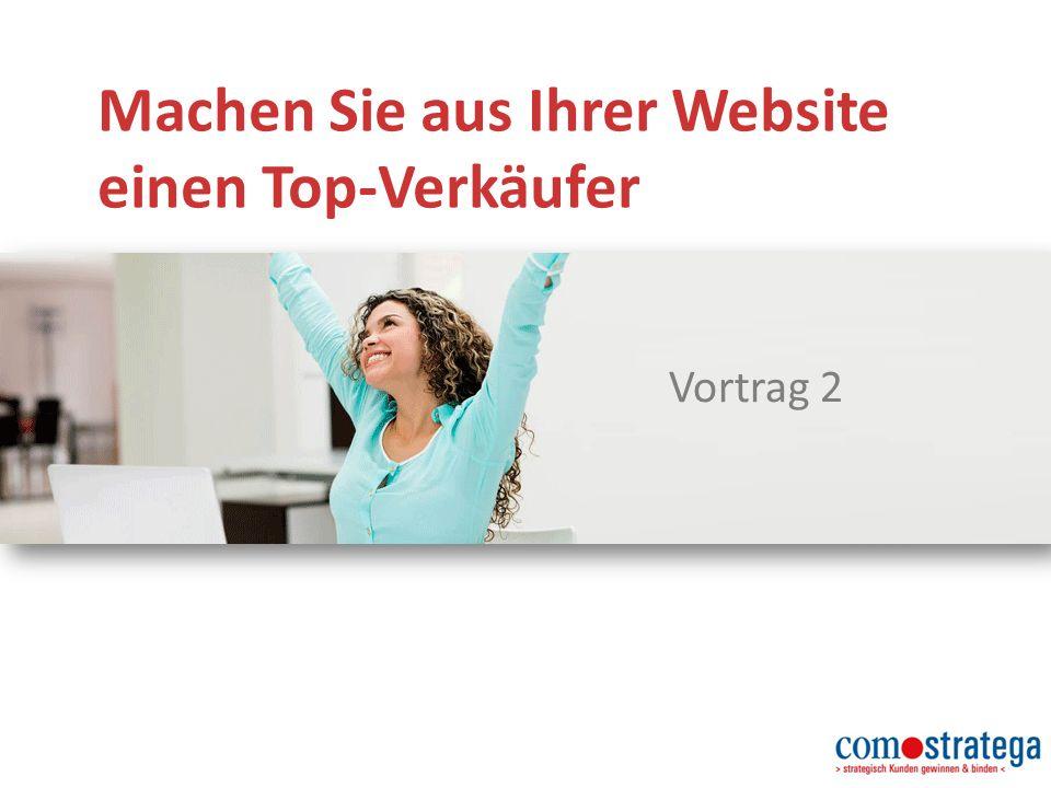 Machen Sie aus Ihrer Website einen Top-Verkäufer Vortrag 2
