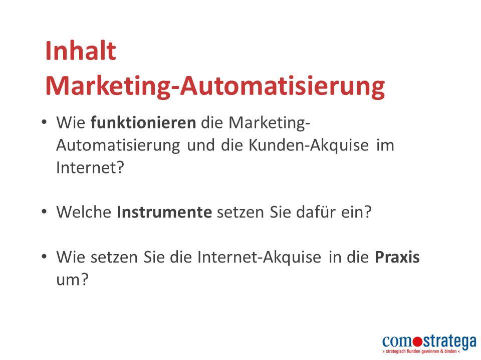 Die Marketing 2.0 Strategie Marketing 2.0 ist ein vielfach erprobtes Kunden- Sog-System.