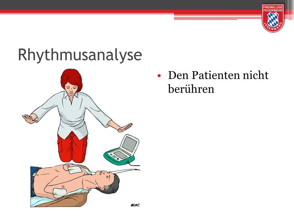 Rhythmusanalyse Den Patienten nicht berühren