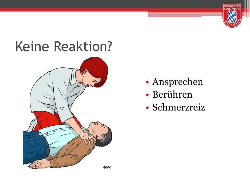 30 Herzmassagen : 2 Beatmungen dürfen für das Anbringen der Elektroden am Brustkorb nicht unterbrochen werden.