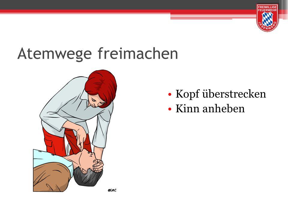 AED - Automatischer Externer Defibrillator Das Gerät analysiert den Herzrhythmus Trifft eigenständig die Entscheidung, ob ein Elektroschock (Defibrillation) erforderlich ist.