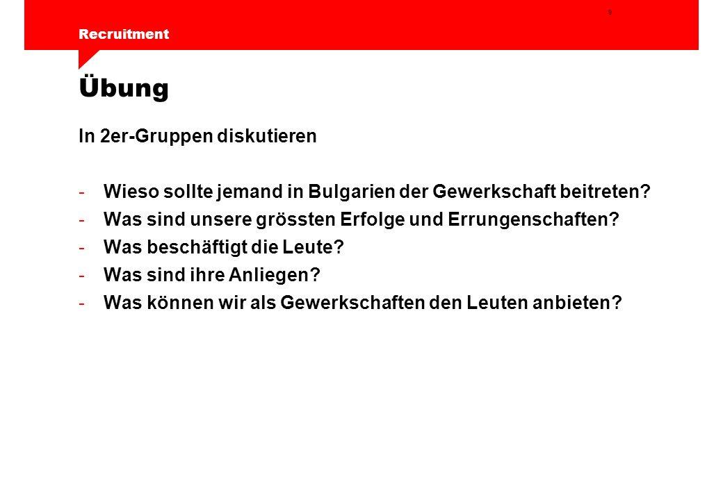 10 Recruitment Das Werbegespräch 3.