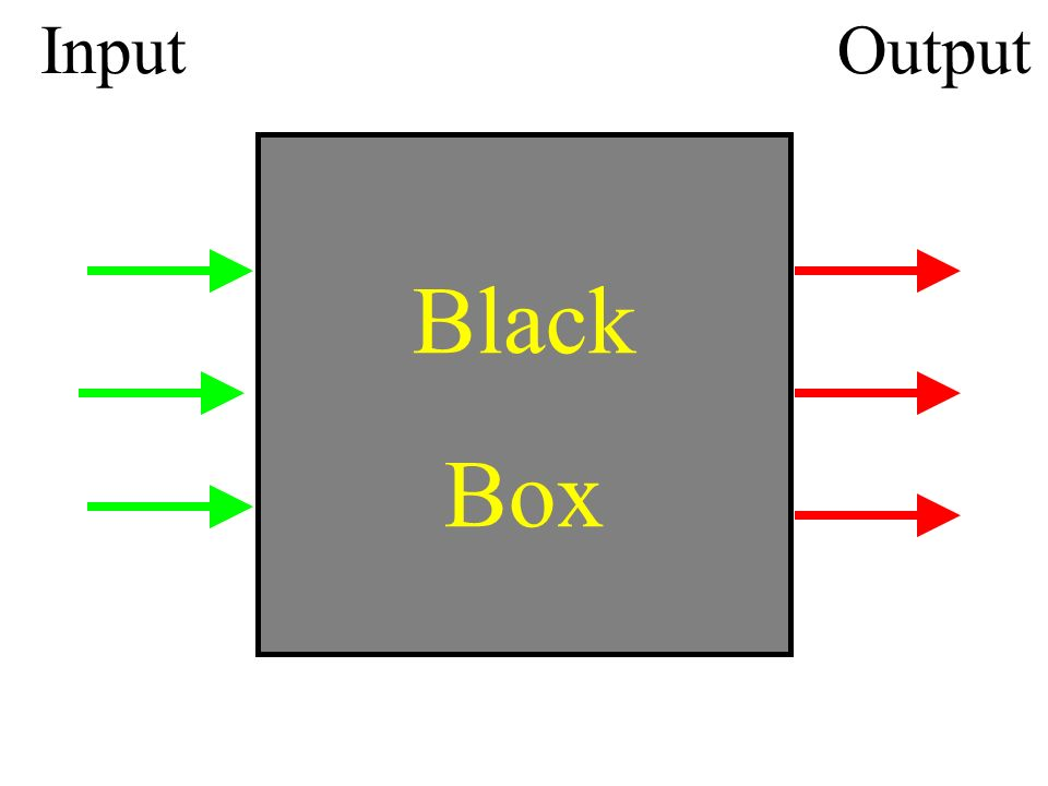 InputOutput Black Box