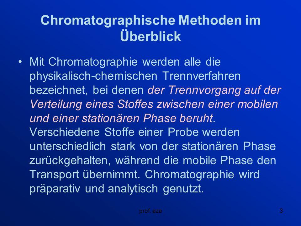 prof.aza14 Verdienst für Chromatographie 21.
