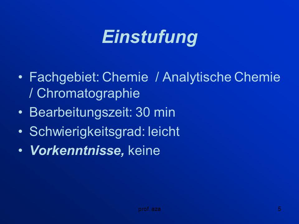 prof. aza26 Abb.7 Technische Entwicklung der Chromatographie