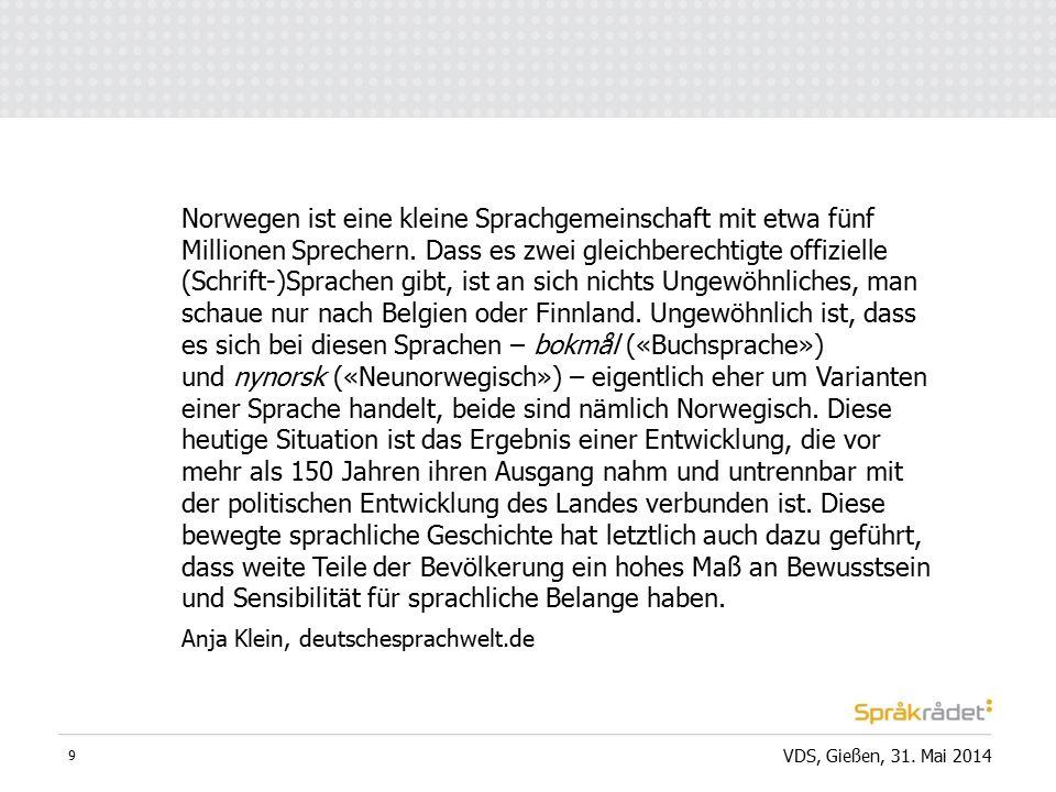 VDS, Gießen, 31.