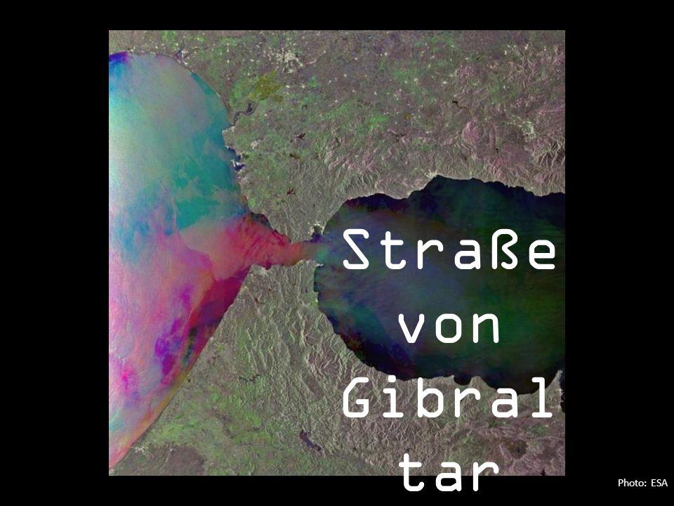 Photo: ESA Straße von Gibral tar