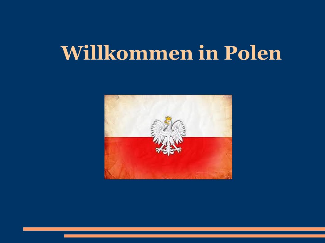 Willkommen in Polen