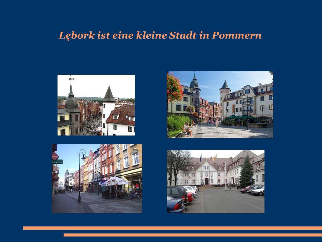 Lębork ist eine kleine Stadt in Pommern