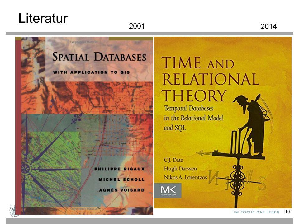 Literatur 10 2001 2014