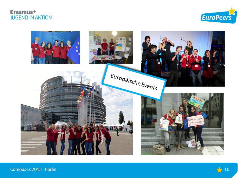 10 Comeback 2015 - Berlin Europäische Events