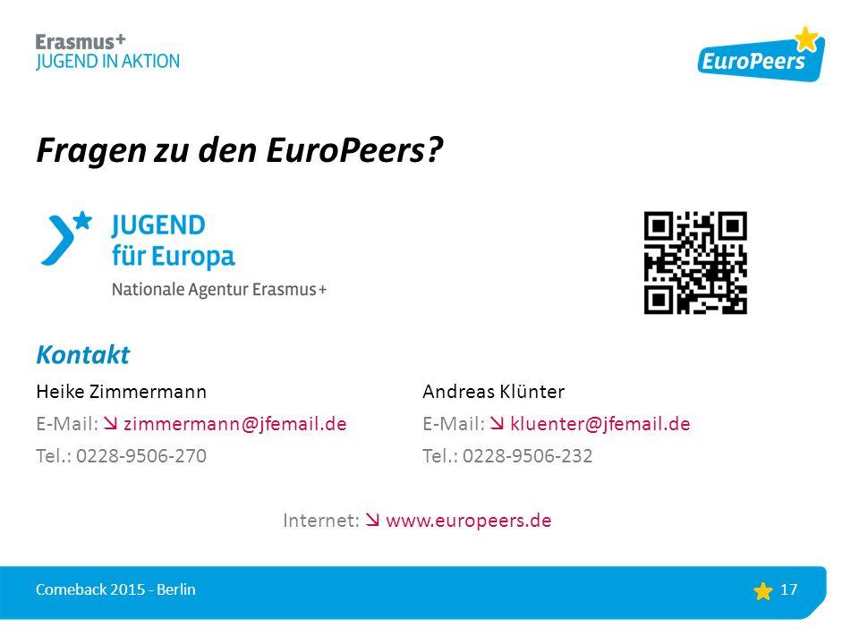 Fragen zu den EuroPeers.