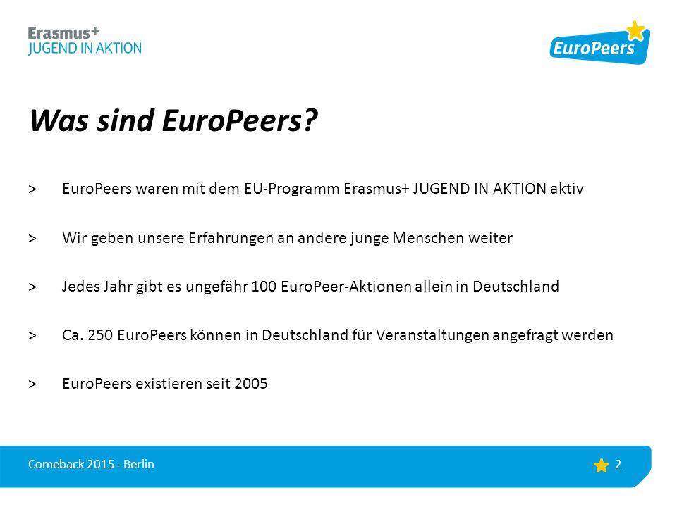 Was sind EuroPeers.