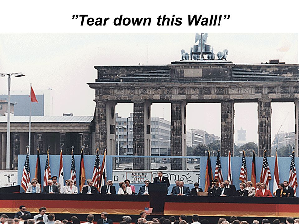 Tear down this Wall!