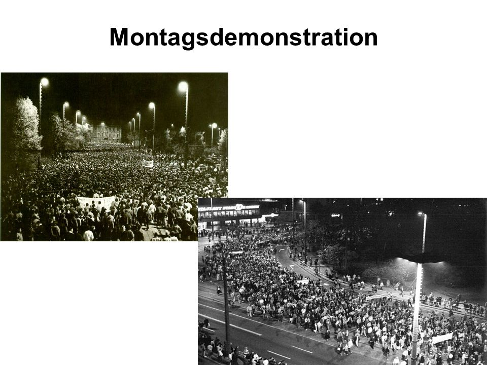 Montagsdemonstration