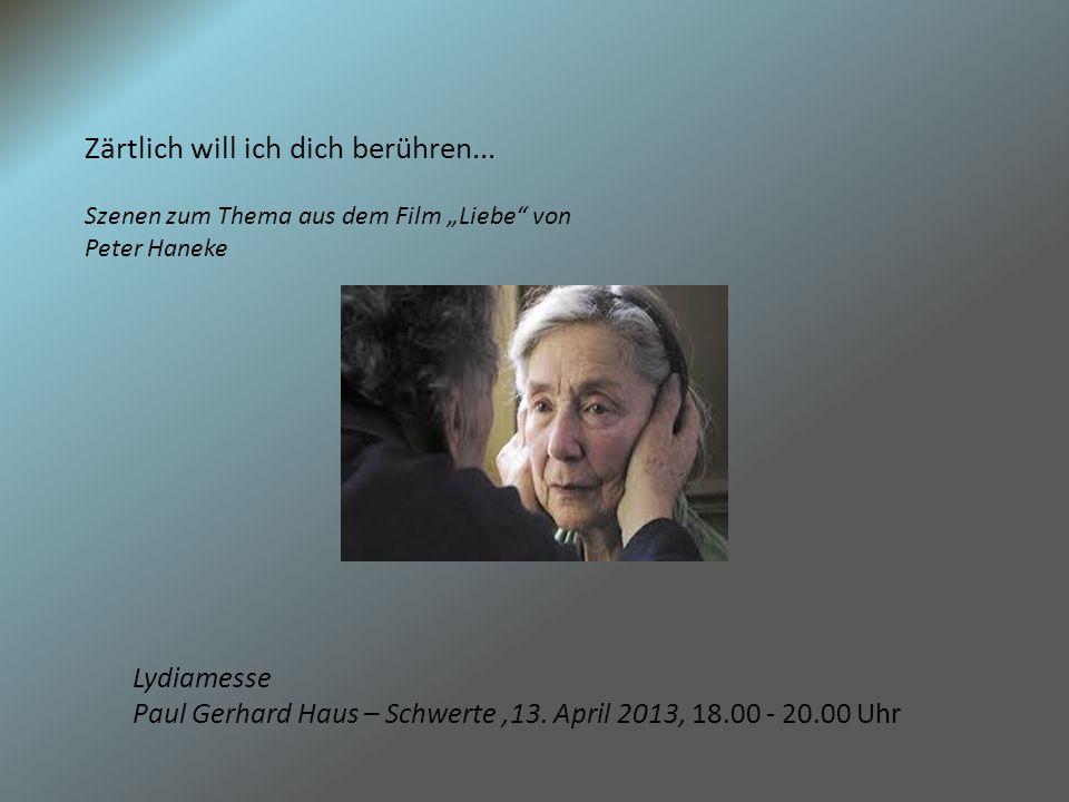 Wir sind Familie! Familienleben heute Lydiamesse 12.10.13 Paul-Gerhard Haus Schwerte