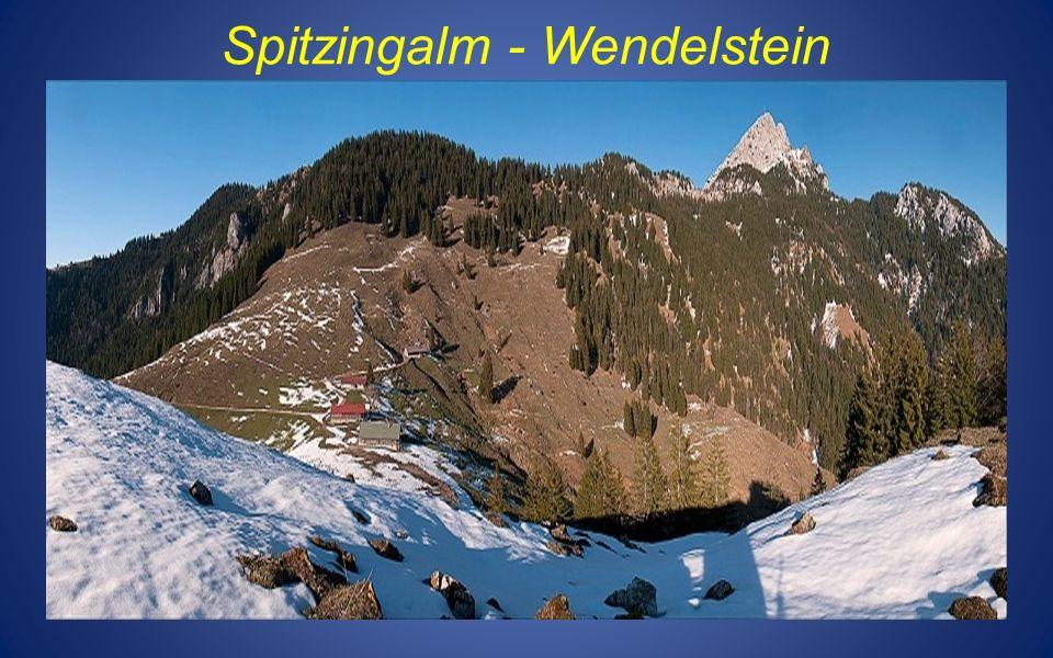 Spitzingalm - Wendelstein