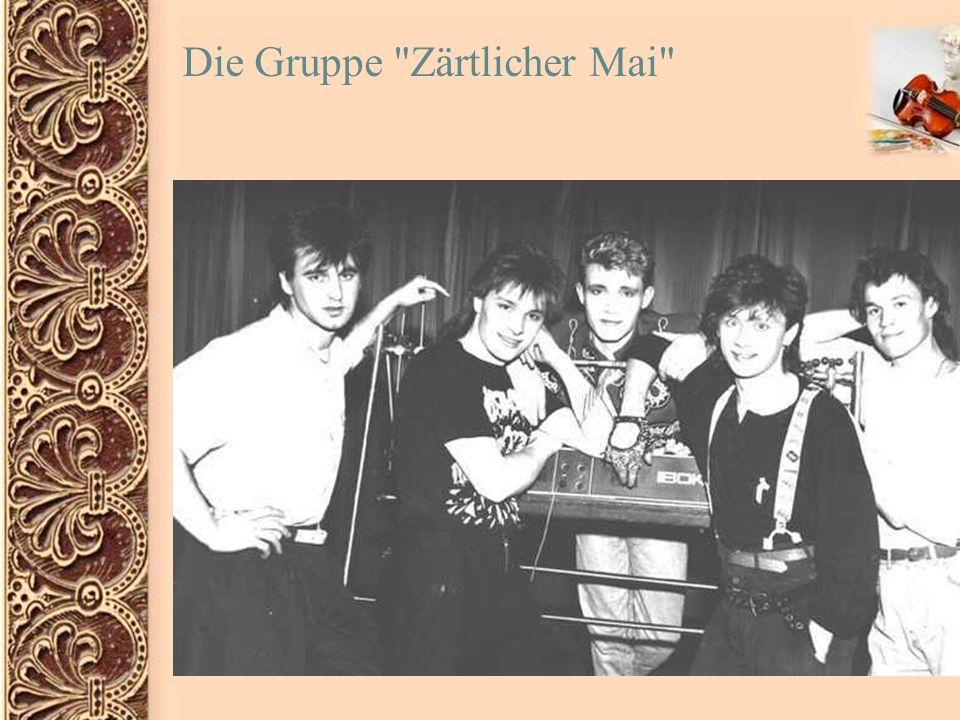 Nach dem Zerfall der Gruppe in 1992 fingen die Triebstangen an, selbständig aufzutreten.