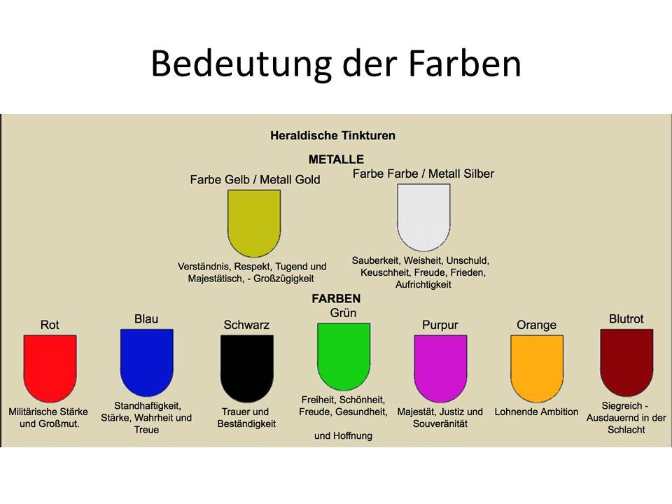Bedeutung der Farben