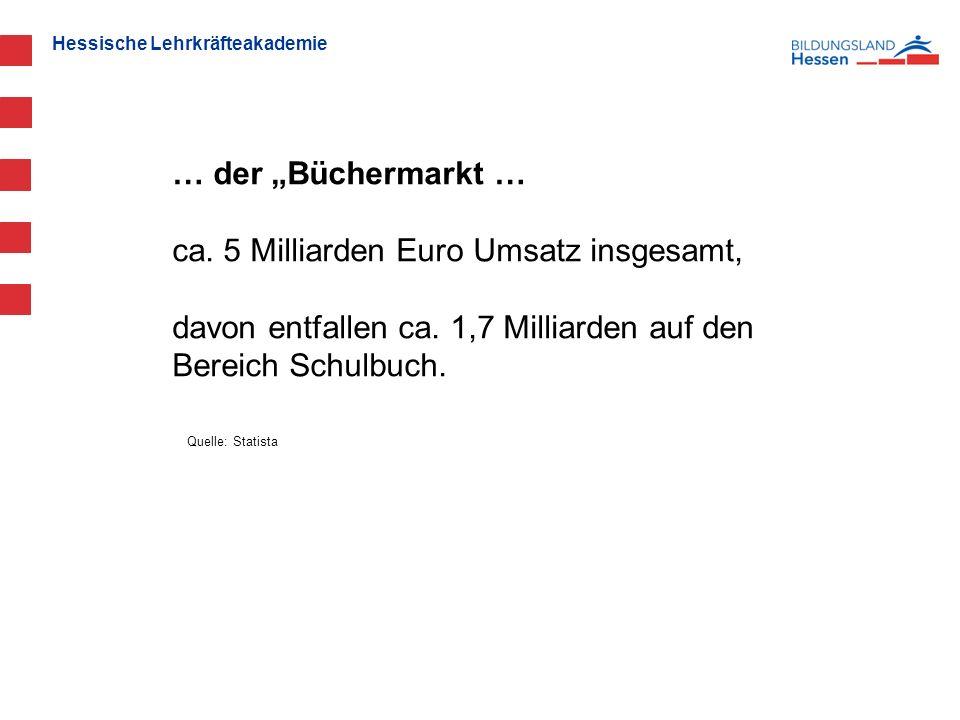 """Hessische Lehrkräfteakademie … der """"Büchermarkt … ca."""