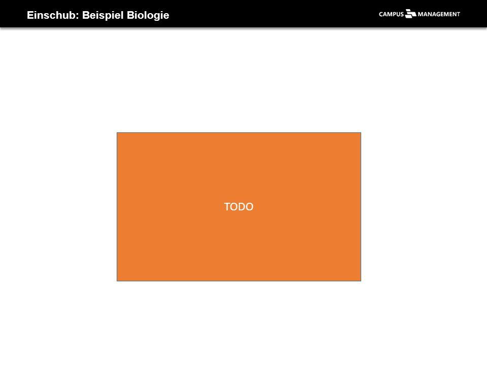 Einschub: Beispiel Biologie TODO