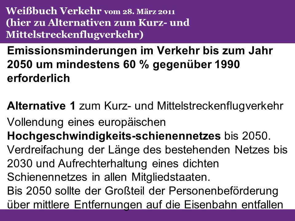 Weißbuch Verkehr vom 28.