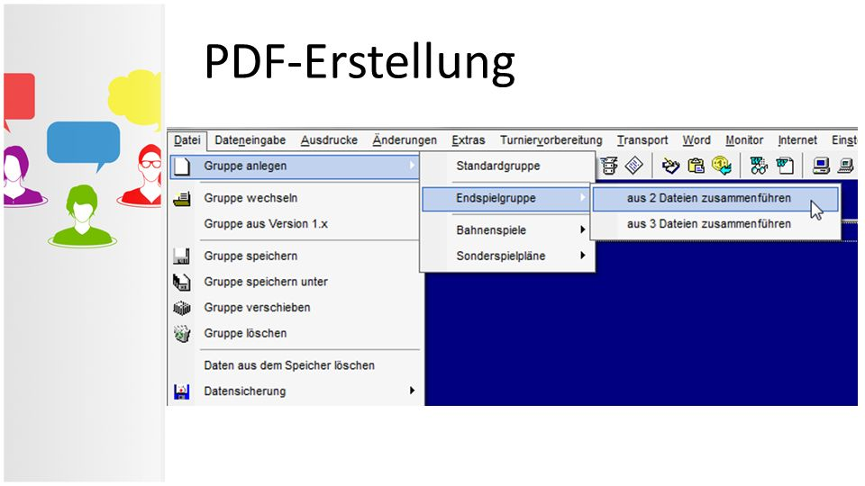 PDF-Erstellung