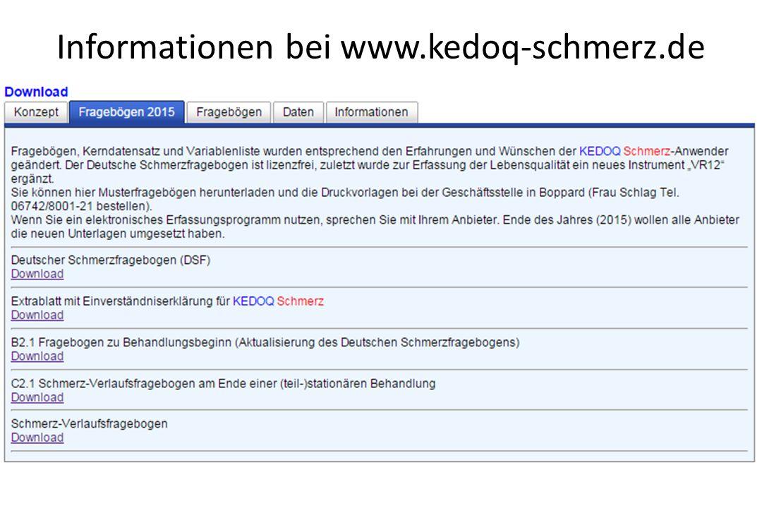 Informationen bei www.kedoq-schmerz.de
