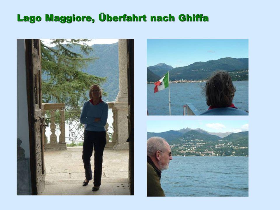 Lago Maggiore, Überfahrt nach Ghiffa