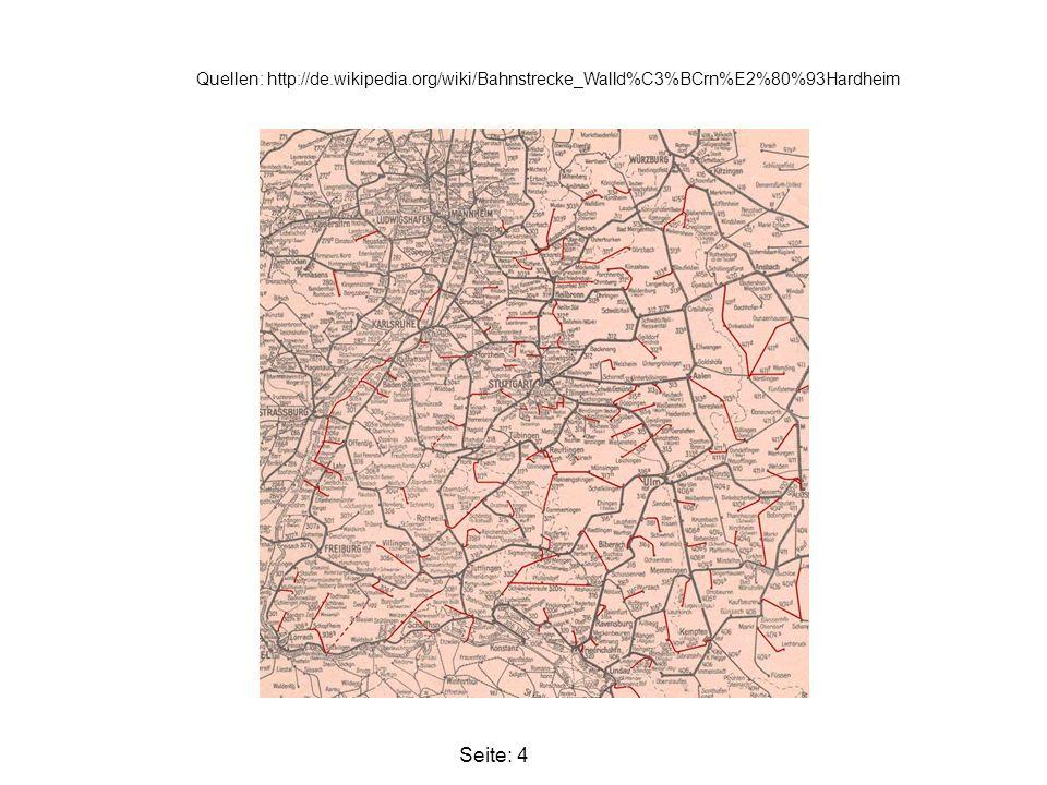 Quellen: Atlas von 1806. B27 Heidelberg - Würzburg Seite: 5