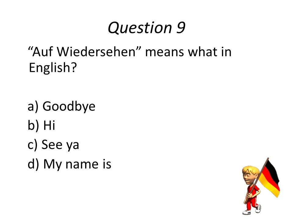 Question 8 Lufthansa is what in Germany.