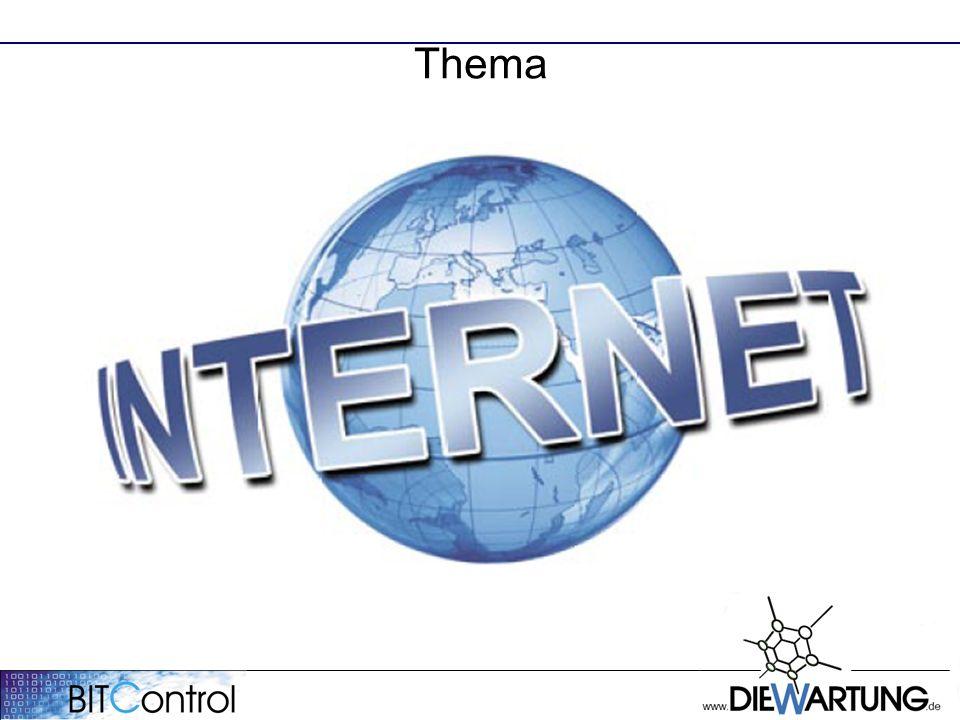 Thema Was ist Web 2.0 und welchen Nutzen bringen die neuen Internettechnologien dem Betreiber von Abwasseranlagen.