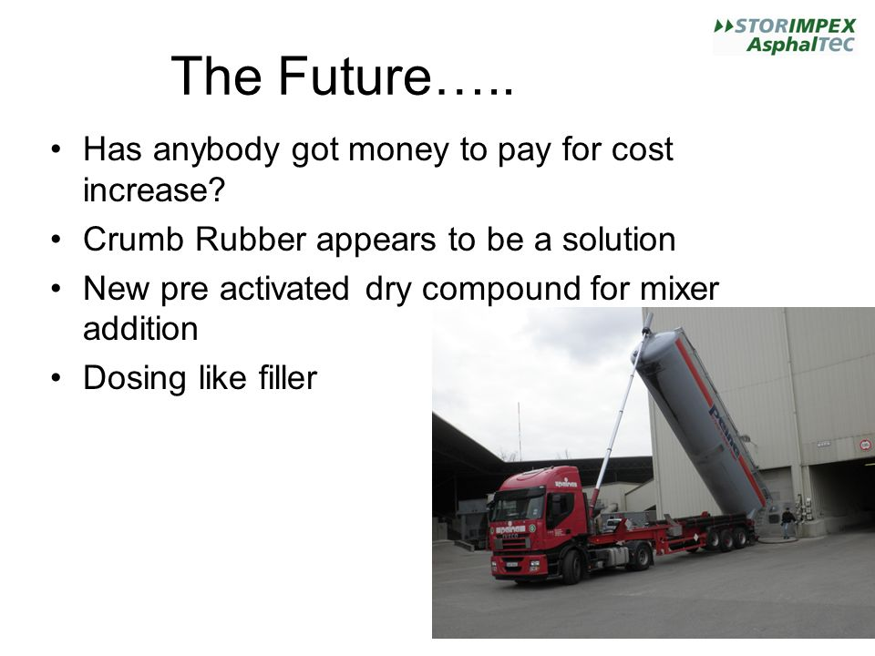 The Future…..Has anybody got money to pay for cost increase.