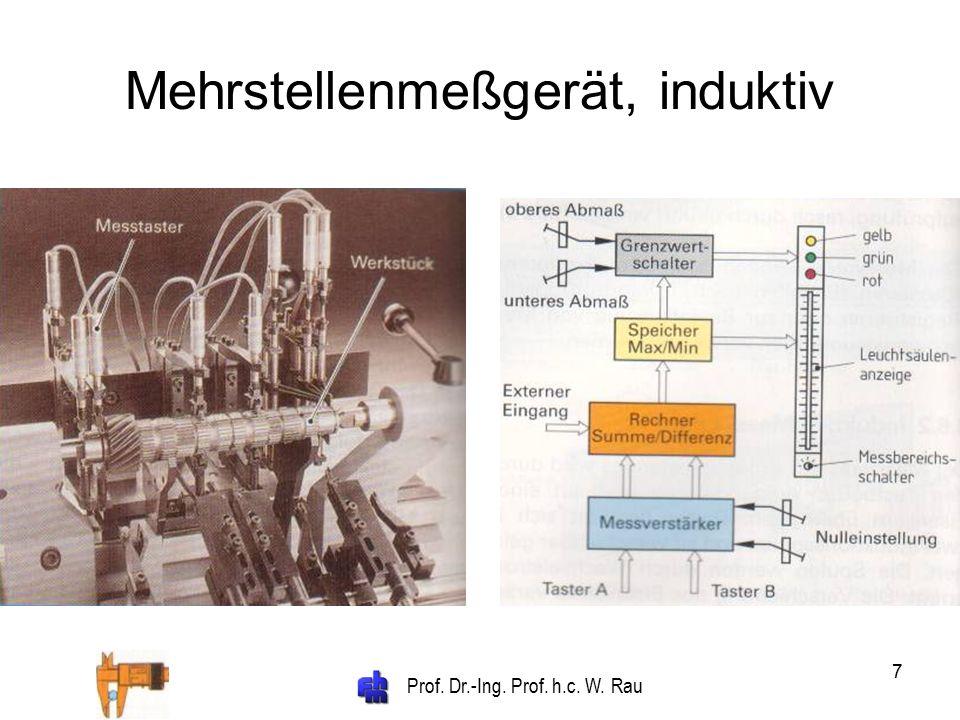 Prof. Dr.-Ing. Prof. h.c. W. Rau 7 Mehrstellenmeßgerät, induktiv