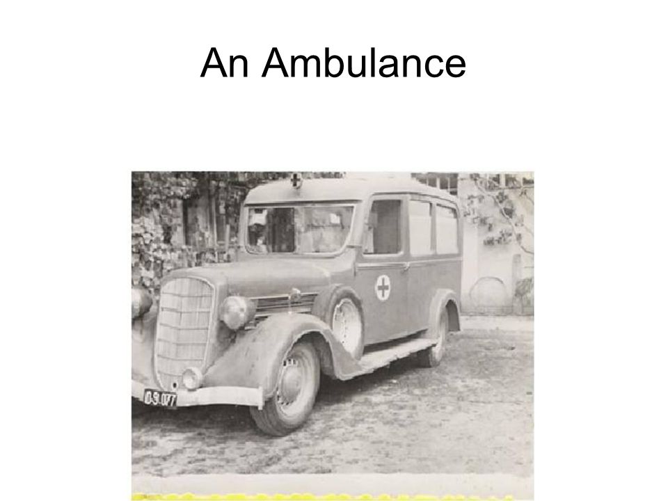 An Ambulance