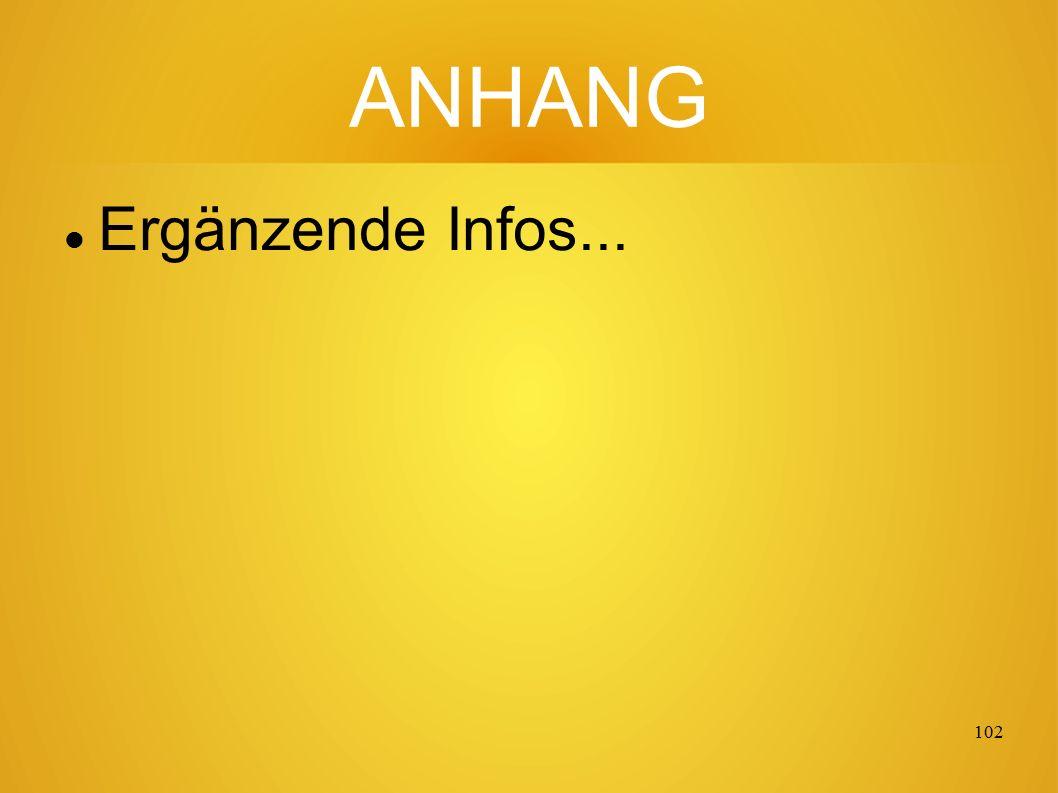 101 Danke für die Aufmerksamkeit Mehr Informationen finden Sie über eine Suche mit: FAQ4H FAQ4H FAQ4H = Fragen Antworten Quellen für Heilung...