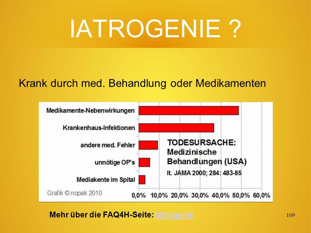 108 Todes-UR-Sachen: Hier fehlt aber noch die Iatrogenie, die in USA an Pos. 1 der Liste steht.