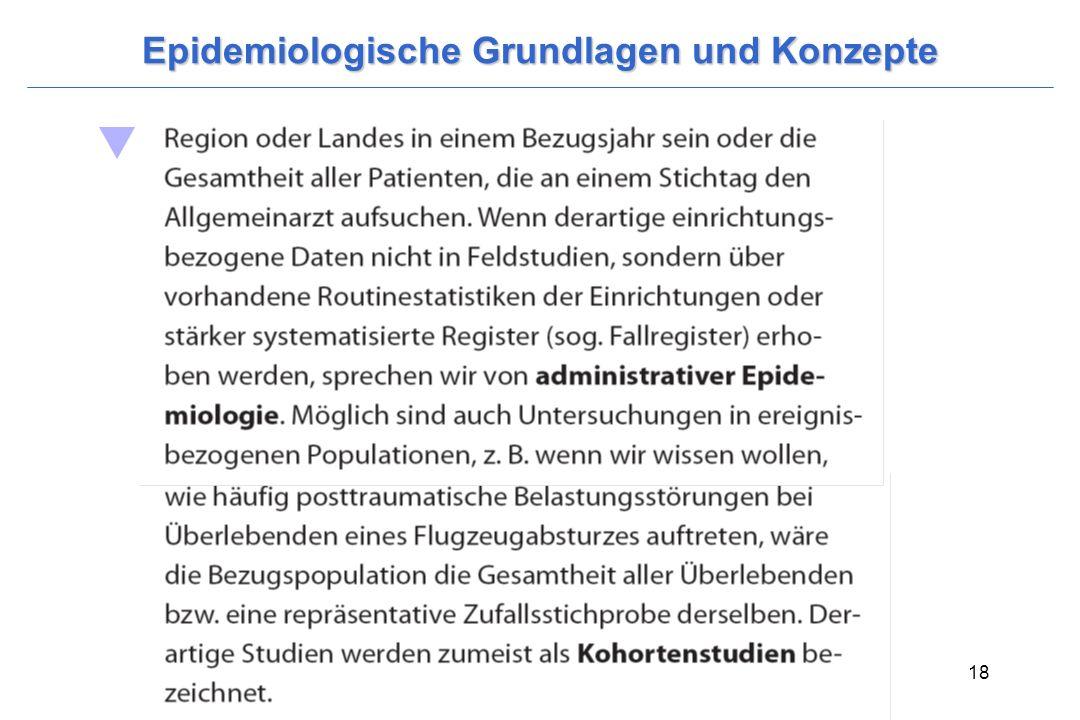 Wittchen, H.-U. & Hoyer, J. (2006). Klinische Psychologie & Psychotherapie. Heidelberg: Springer. 18 Epidemiologische Grundlagen und Konzepte