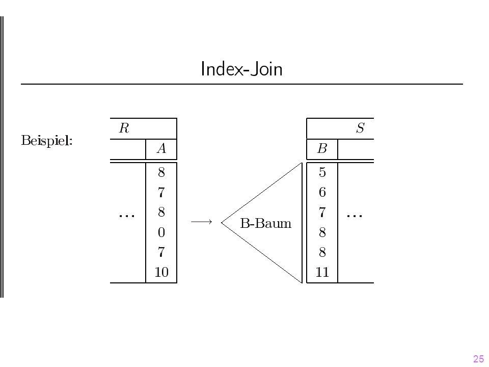 26 Idee:  erfordert zwei Sortierungen 1.R muss nach A und 2.