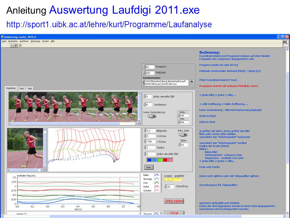 Anleitung Auswertung Laufdigi 2011.exe 2 4 http://sport1.uibk.ac.at/lehre/kurt/Programme/Laufanalyse