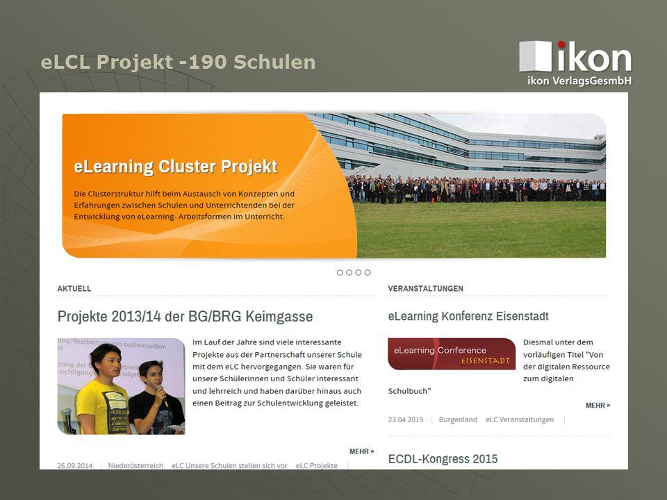 eLCL Projekt -190 Schulen