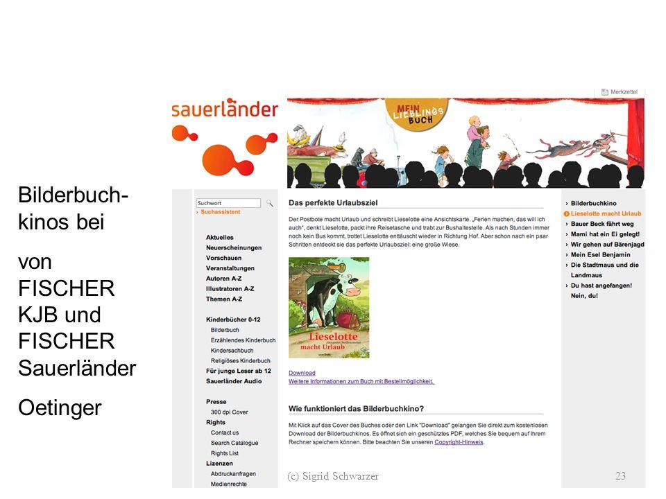 Bilderbuch- kinos bei von FISCHER KJB und FISCHER Sauerländer Oetinger (c) Sigrid Schwarzer23