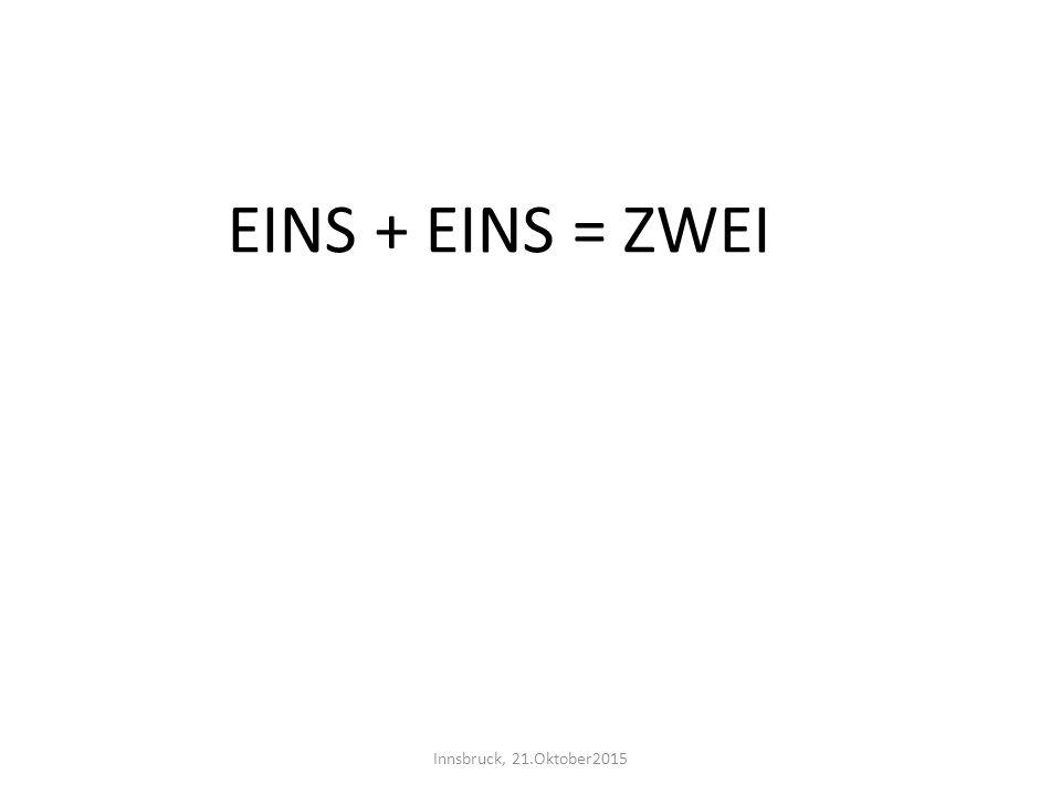 Immun gegen - ,  und : Wichtel Tom behauptet: « Es gibt zwei verschiedene Zahlen a und b (a ungleich 0, b ungleich 0), deren Differenz sowohl mit ihrem Produkt als auch mit ihrem Quotienten übereinstimmt!» Innsbruck, 21.Oktober2015
