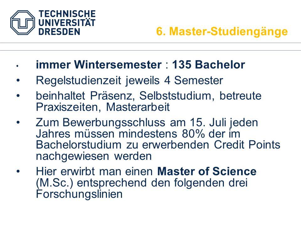 immer Wintersemester : 135 Bachelor Regelstudienzeit jeweils 4 Semester beinhaltet Präsenz, Selbststudium, betreute Praxiszeiten, Masterarbeit Zum Bew