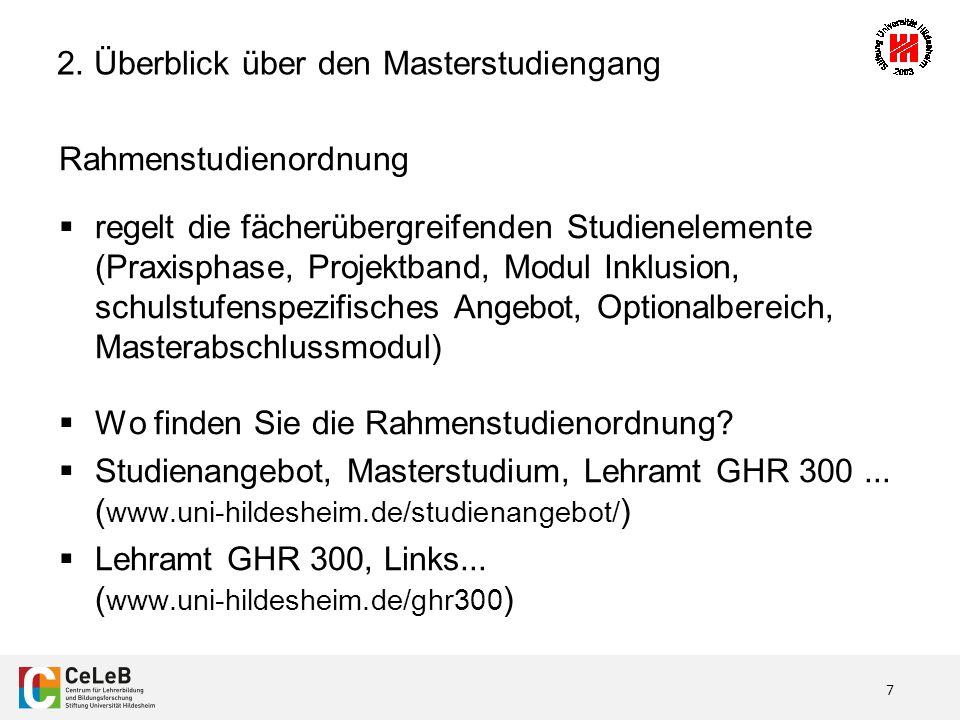 8 Gliederung 1.Einführung – Oder: Was war nochmal GHR 300.