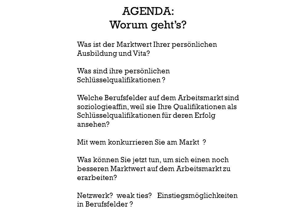 23 Berufsfelder von Mitgliedern im : Berufsverband Deutscher Soziologinnen und Soziologen e.V.