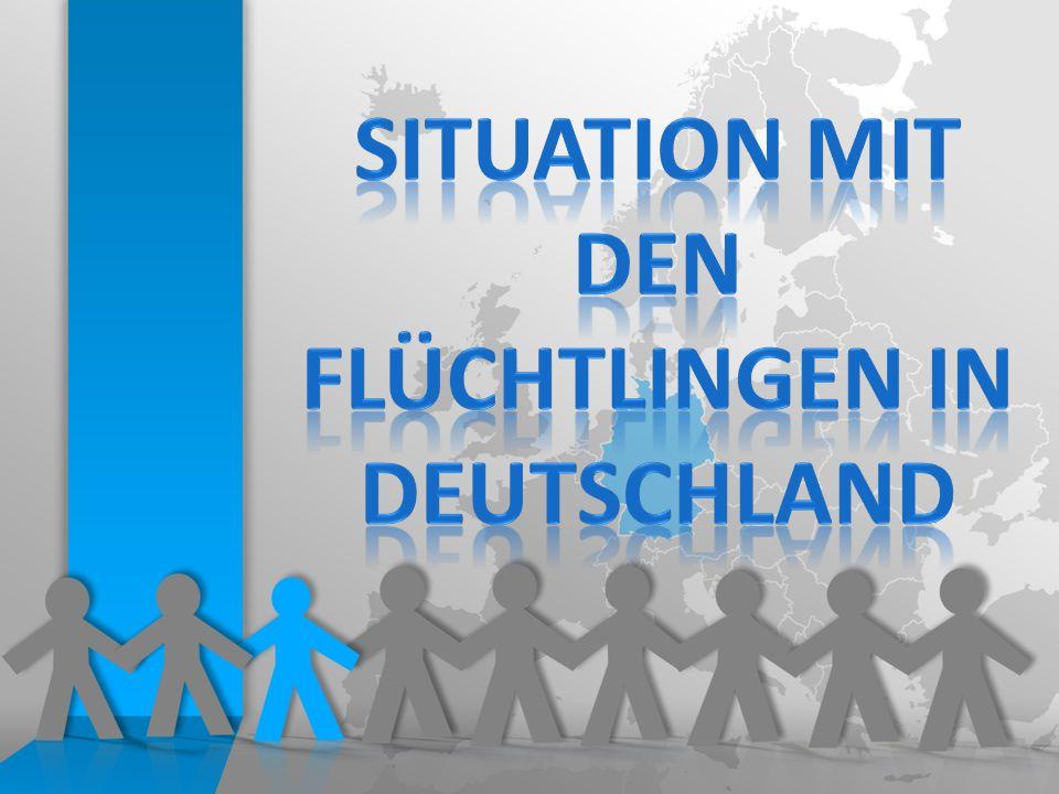 Rund 10 000 Flüchtlinge kommen nach Deutschland pro Tag Vom 5.09.2015 bis zum 27.09.2015 rund 230 000 Asylsuchende nach DE gekommen 2/3 davon – rund 150 000 sind nach den eingeführten Grenzkontrollen gelandet Rund 750 000 Flüchtlinge sind in diesem Jahr bis September nach Deutschland gekommen